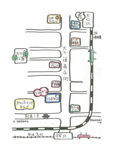 画像 地図_ロディーナへのアクセス方法